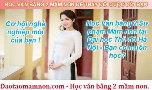 hoc van bang 2 mam non 2016