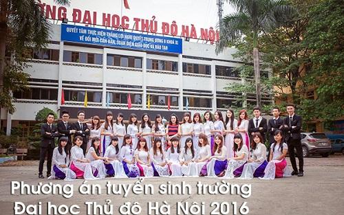 Dai hoc thu do dao tao lien thong su pham mam non 2016