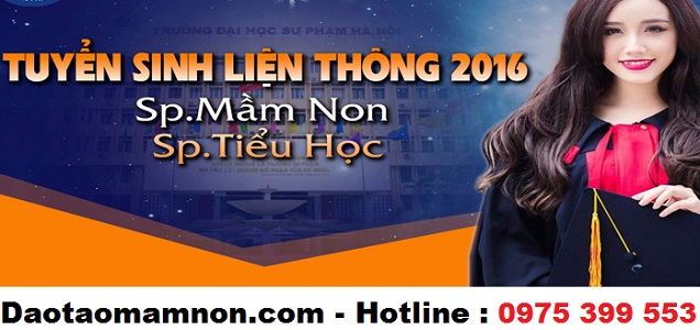 Lien thong su pham tieu hoc, mam non 2016