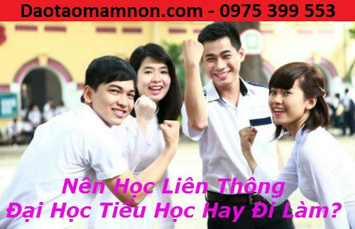 Lien thong trung cap su pham tieu hoc 2016