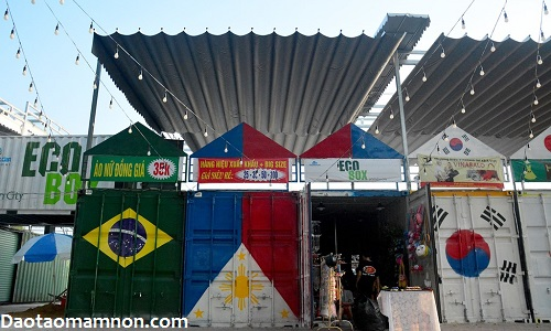 "Di hoi cho container, ""ring"" do ve hoc trung cap mam non"