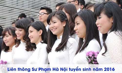 Tuyen sinh lien thong trung cap su pham tieu hoc Ha Noi 2016