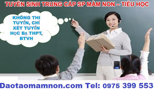 Tuyen sinh trung cap mam non Ha Noi 2016