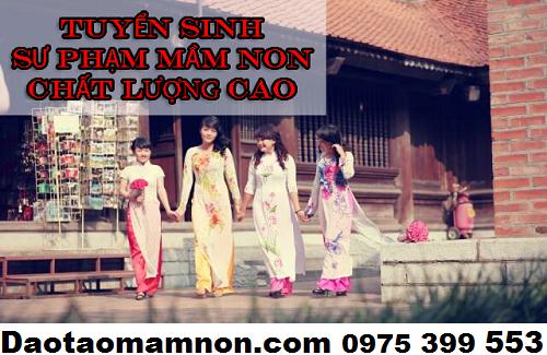 Tuyen sinh su pham mam non Ha Noi 2016