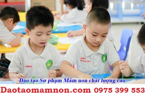Chat luong dao tao trung cap su pham mam non thiet thuc voi giao duc mam non