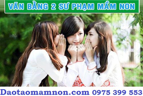 Hoc van bang 2 mam non la su lua chon hoan hao
