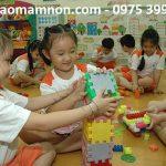 Sư phạm mầm non dạy trẻ theo cách giáo dục sớm