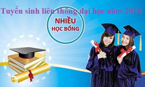 Tuyen sinh lien thong dai hoc nam 2016
