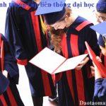 Tuyển sinh hệ trung cấp liên thông đại học chính quy