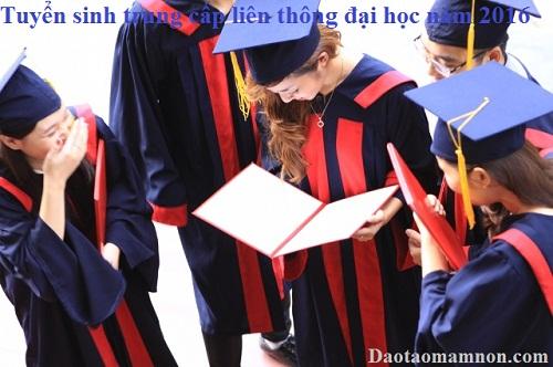 Tuyen sinh trung cap lien thong dai hoc nam 2016