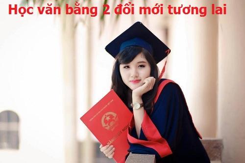 Tuyen sinh van bang 2 he dai hoc chinh quy